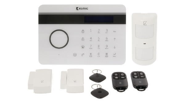 Wireless fixed network/GSM alarm system