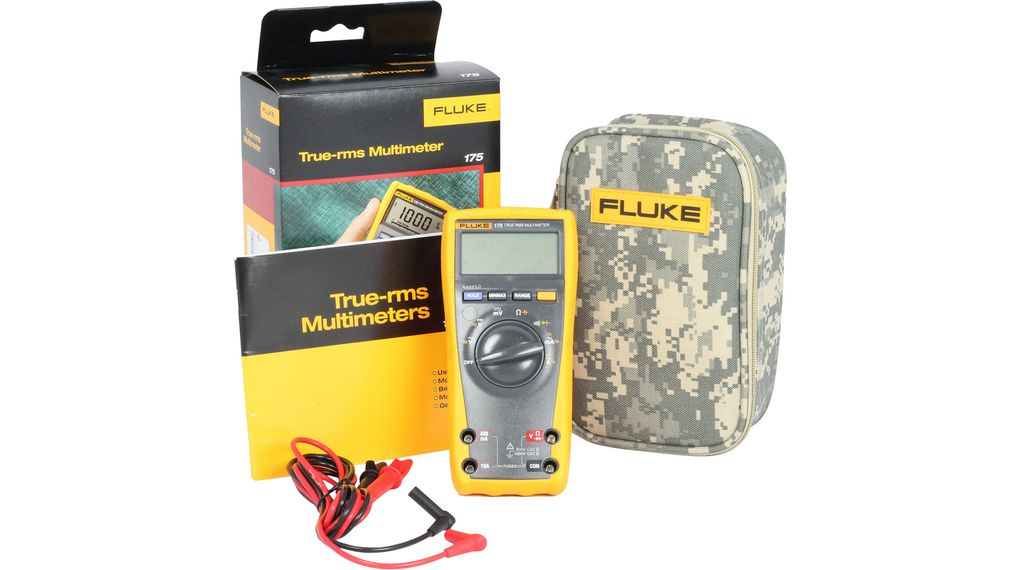 Buy Multimeter Digital with Camouflage Carrying Case TRMS LCD 1000 VAC 1000 VDC 10 ADC
