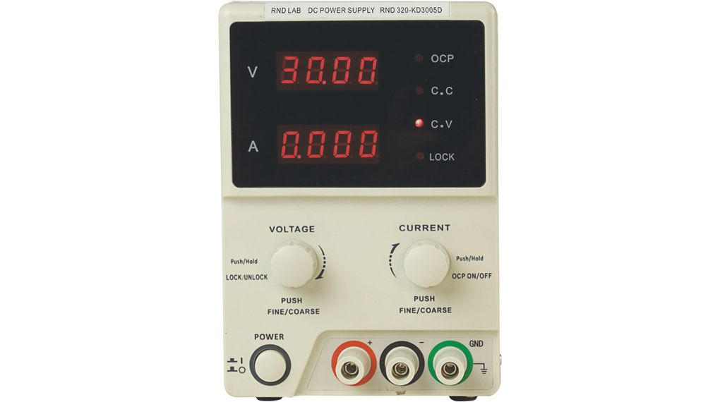 Buy Laboratory Power Supply 1 Ch. 0...30 VDC 5 A
