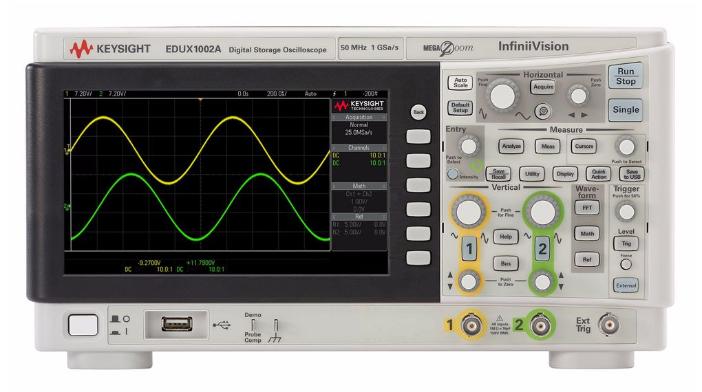 Buy Oscilloscope, 2x 50MHz, 1GSPS