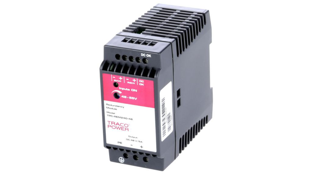 kjøpe Redundansmodul TPC Series Industrial Power Supplies 90 mm DIN-skinnemontering