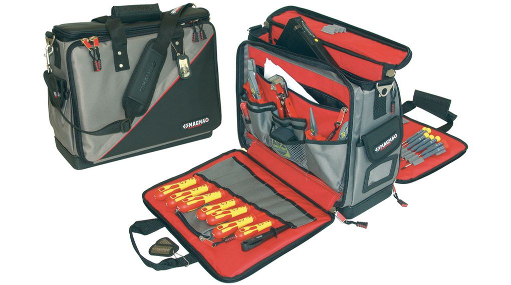 Buy Tool Case for Technicians Plus 460 x 210 x 420 mm 3.99 kg Polyester