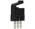 Buy Micro switch 0.5 A Flat lever Snap-action switch 1 change-over (CO)