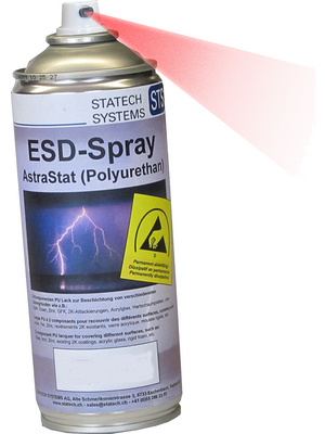 04sasesds3000n Dissipative Paint Spray 400 Ml Statech Systems