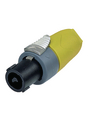 Cable socket, Speakon Yellow 4P Buy {0}