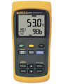 Fluke 52 II Dual Input Digital Thermometer 2x -250 ...  1767 °C Buy {0}