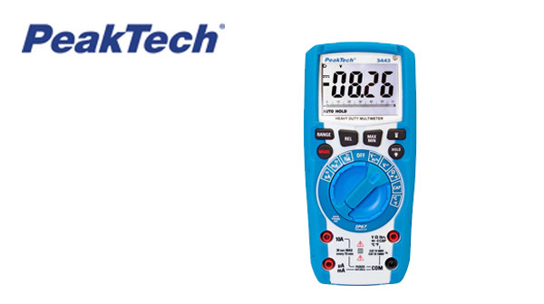 PeakTech 3443 digital multimeter